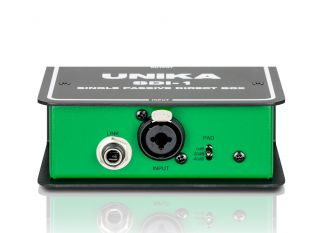 Unika Stage-Serie SDI-1 Single Passive DI-Box