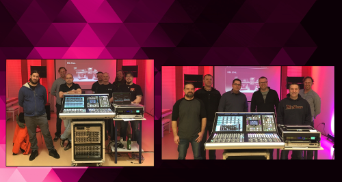 SSL Training bei Mega Audio