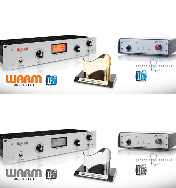 TEC Award Winner 2017 Warm Audio Rupert Neve Design