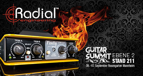 Radial Guitar Summit 2017 Mannheim