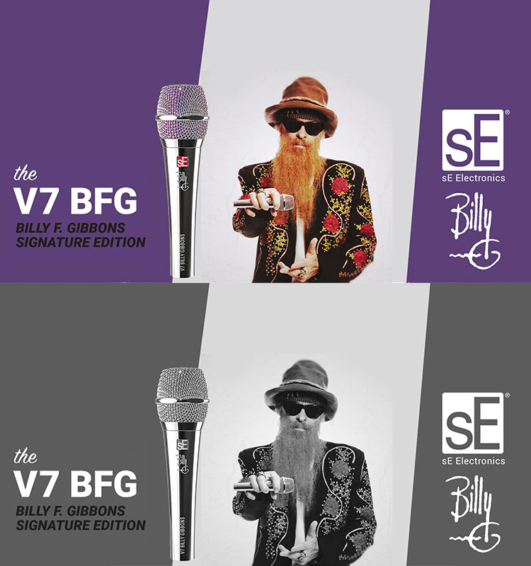 V7 BFG Billy F. Gibbons Signature Gesangsmikrofon
