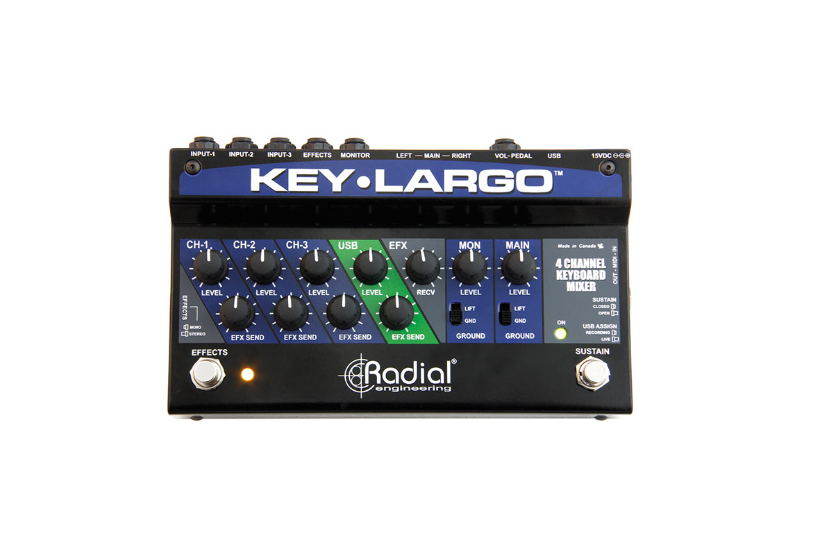 Radial Key Largo Top