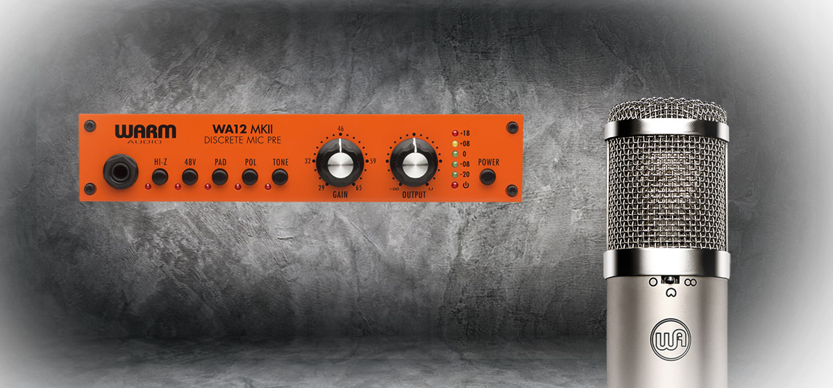 Warm Audio WA12MKII und WA47JR