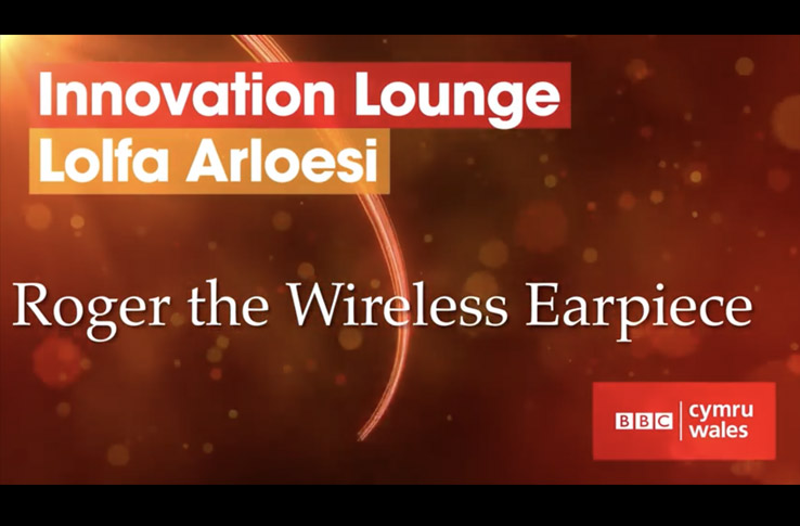 Roger Earpiece bei Innovation Lounge