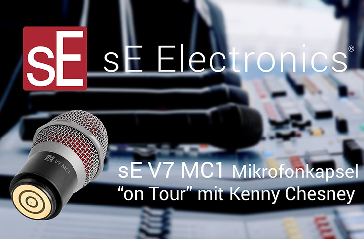 "sE V7 MC1 Mikrofonkapsel ""on Tour"""